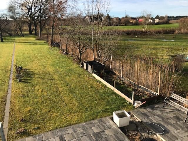 Garten im Januar 2018